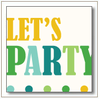 """Let's Party"" Invitation"