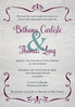 Charming Rustic Invitation