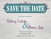 Charming Rustic Save The Date