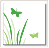 """Butterfly Field"" Invitation"