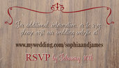 Rustic Wood Website Card