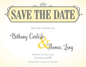 Scroll Save The Date