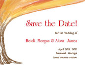 Woodland Fire Save The Date